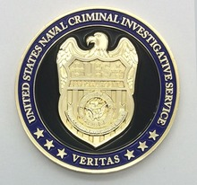Soft Enamel Metal Us Challenge Coin for Collection