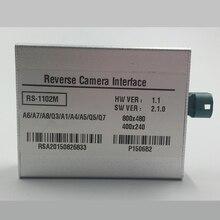 Автомобильный парктроник Системы Установите зеркало заднего вида Камера в видео Интерфейс для Audi A6 C7 2012 Аксессуары
