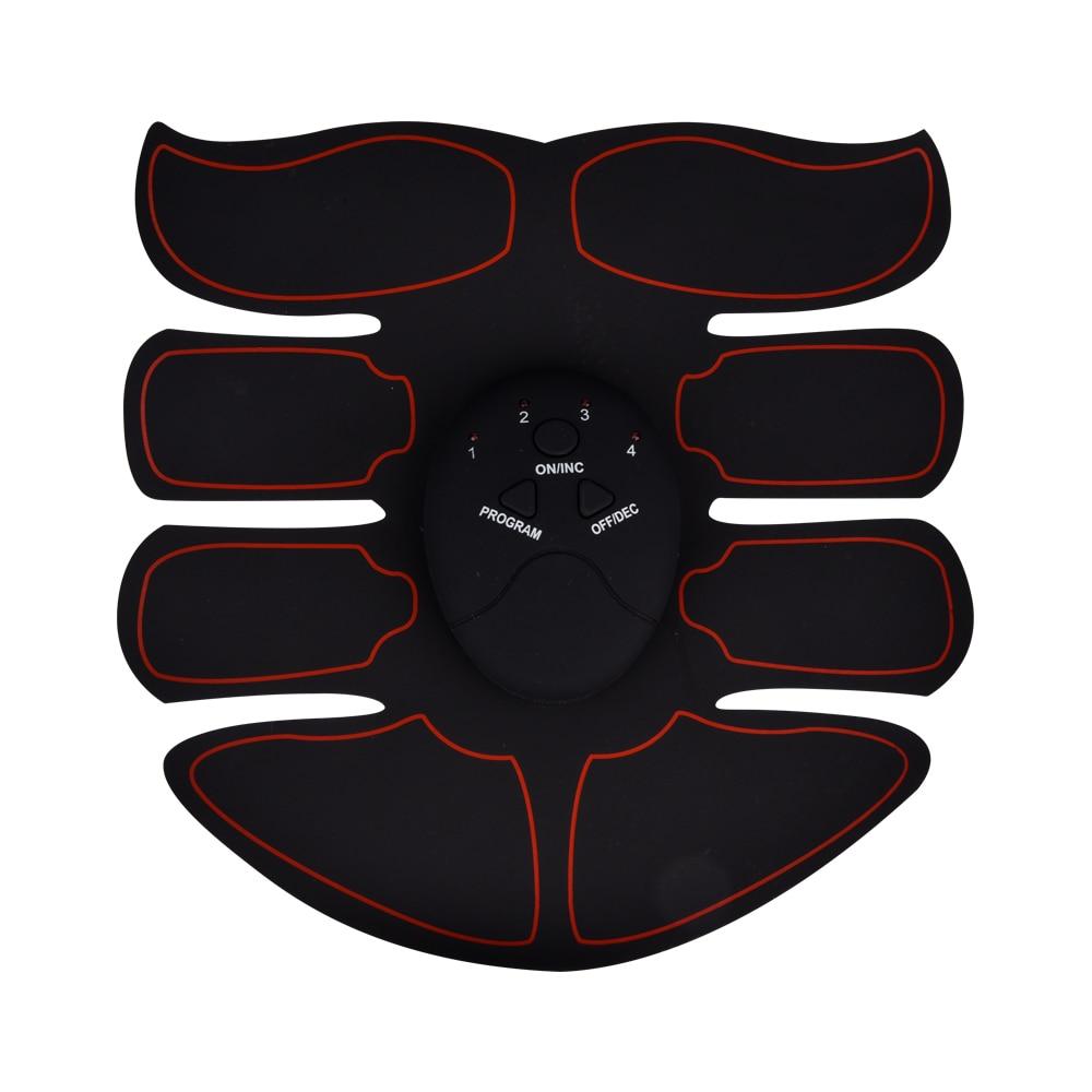 EMS Trainer Drahtlose ABS Stimulator Smart Fitness Bauch Gesäß Muscle Stimulator Körper Gestaltung Gerät Abnehmen Massager
