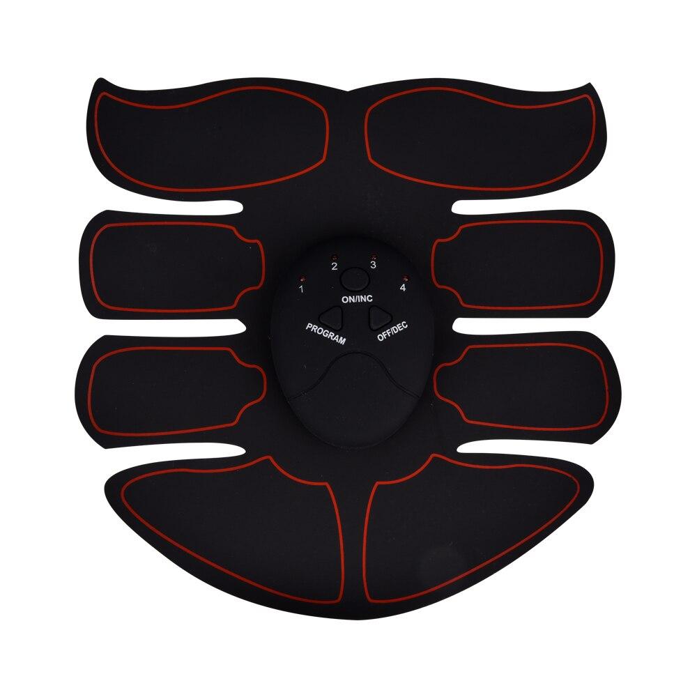 EMS Trainer Wireless ABS Stimulator Smart Fitness Abdominal Buttocks Muscle Stimulator Body Shaping Device Slimming Massager