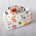 Baby Bibs Fashion Cute Character Cotton Triangle saliva towel Infant Scarf Newborn Print  Burp Clothes Bandana Bib dribble bibs