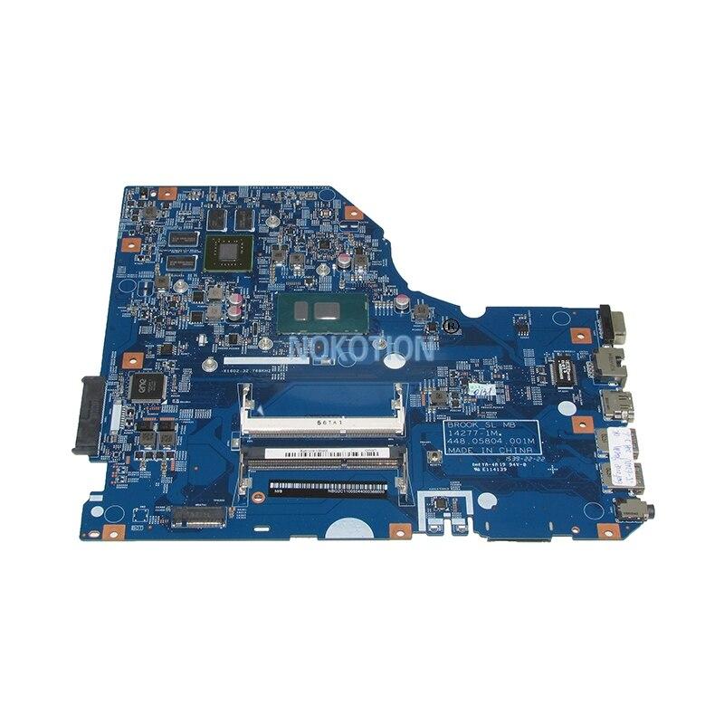 NBG2C11005 NB G2C11 005 laptop motherboard for font b acer b font Asipre E5 772G SR2EY