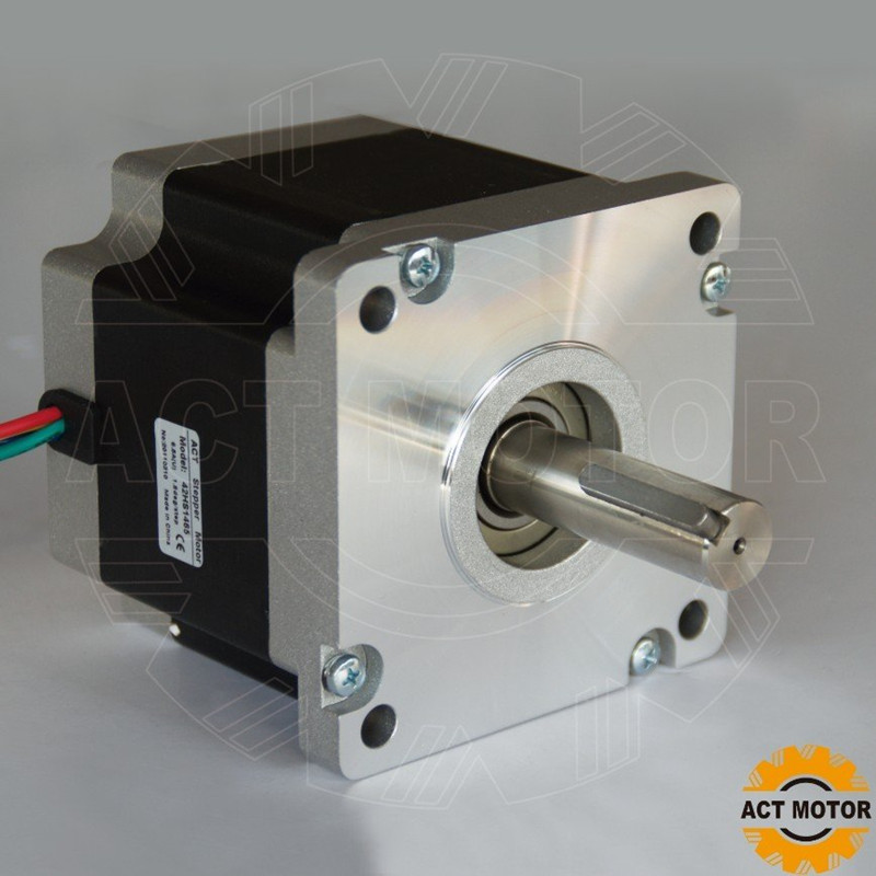 цена на Power Motor! ACT Motor 1PC Nema42 Stepper Motor 42HS9460 100mm 6A 1700oz-in CE ROHS ISO Plasma Plastic Cutting CNC Machine