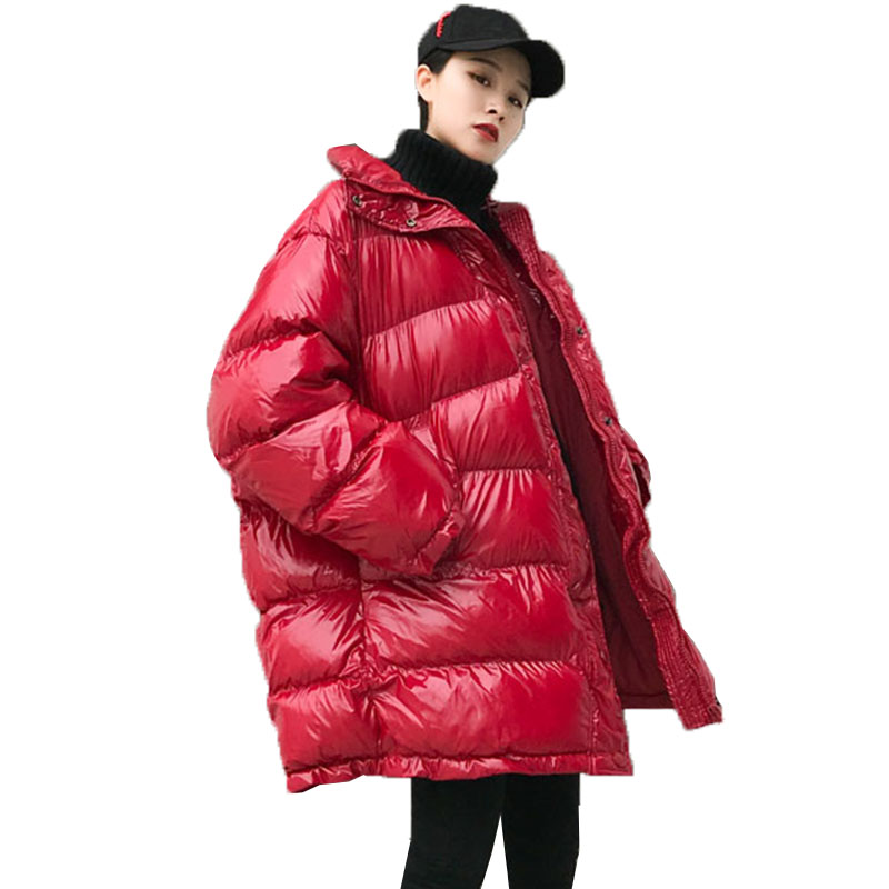 Plus größe Winter Unten Jacke frauen Zipper Mode Dicke Baumwolle Jacken Oberbekleidung Warme Jacke Parka Lose Winter Mantel Frauen 805-in Parkas aus Damenbekleidung bei  Gruppe 1