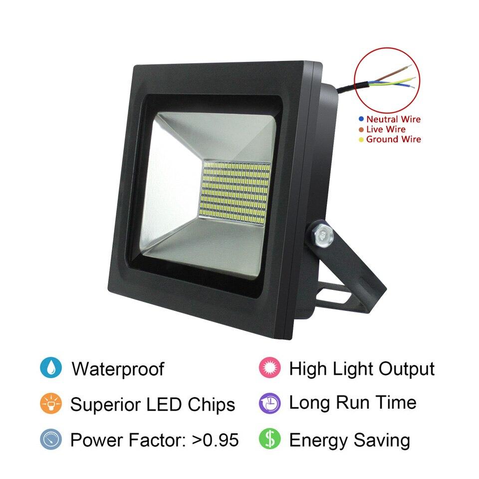 LED Floodlight 200W 150W 100W 60W 30W 15W Ultal Thin Led Flood Light ...
