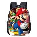 Детский рюкзак Super Mario Bros  детский сад с принтом Sonic  маленький  12 дюймов
