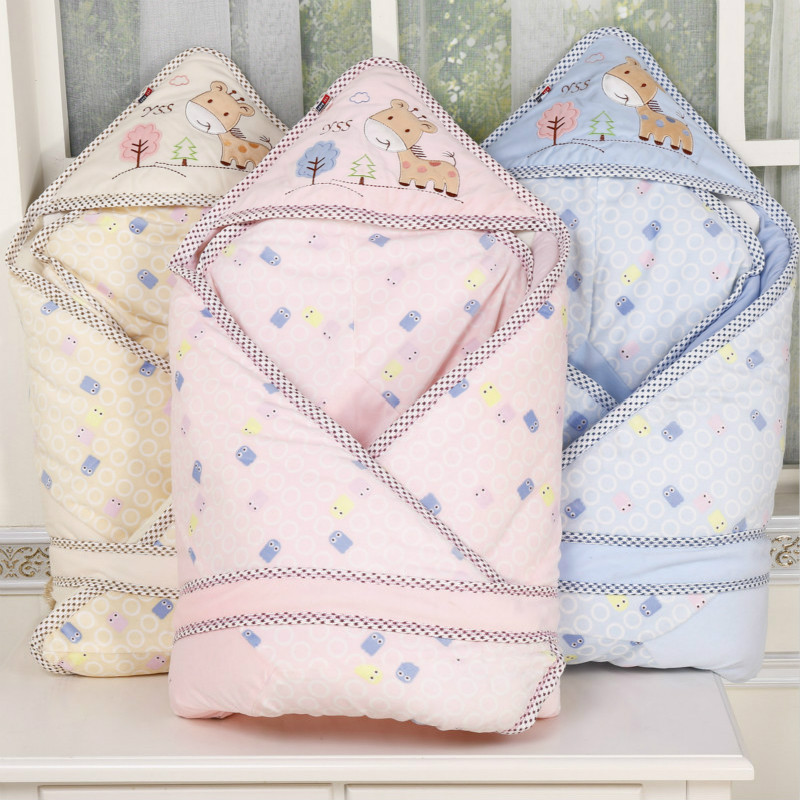 Cotton Infant Sleeping Bag Baby Cocoon Newborns Footmuff Envelope in the Carriage Sleeping Bag Baby Sleepsacks Swaddle Blanket removable liner baby infant swaddle blanket 100