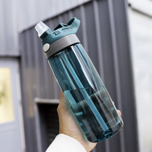 750ml Sport Drinking Water Bottle Students Large-capacity Transparent Portable Tour Hiking Drink