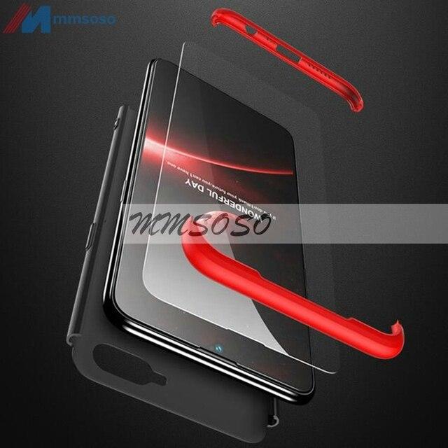 OPPO RX17 Neo Case OPPO RX17 Neo 360 Degree Full Body Cover Case For OPPO RX17 Neo RX 17 Neo Case With Tempered Glass