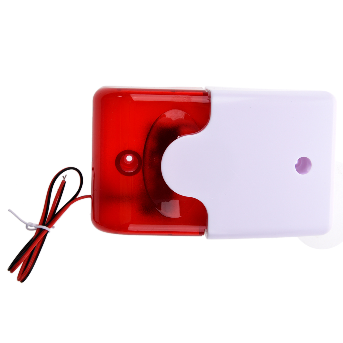 MOOL 12V Wired Sound Alarm Strobe Blinklicht Sirene Home Security System