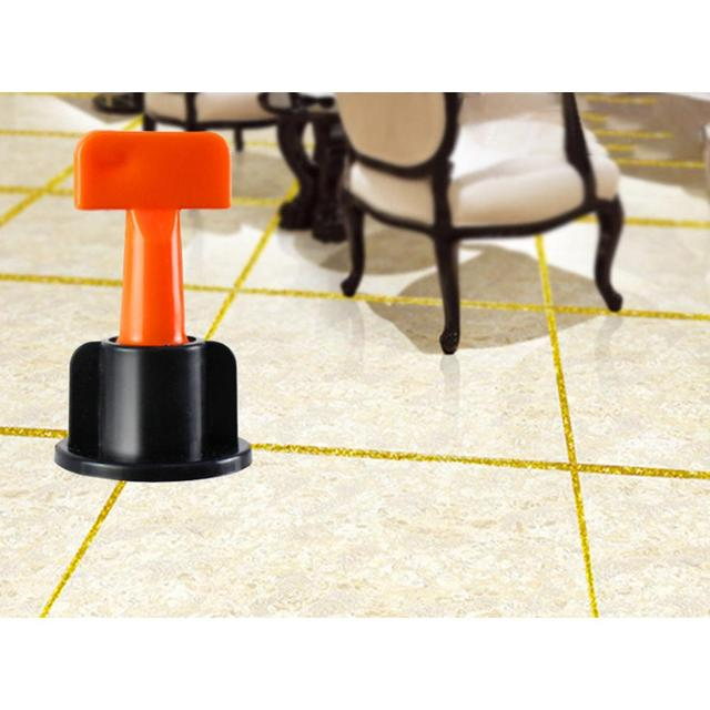 LanLan 50P Flooring Wall Tile Leveling System Leveler Plastic Clip Adjustable Locator Spacers Plier Level Wedges Hand Tools New