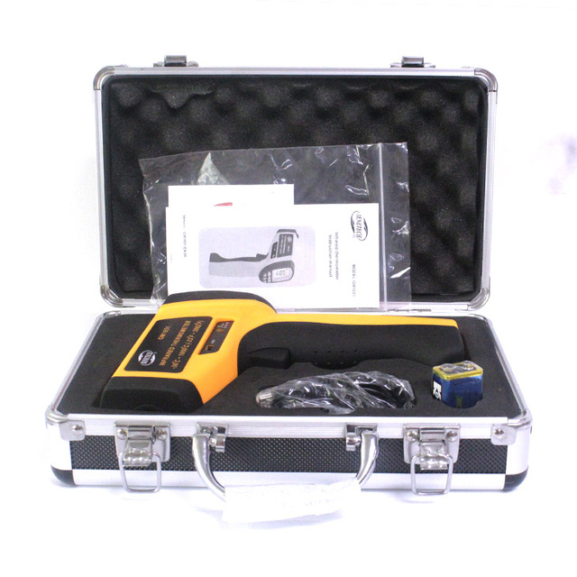 US $99 99 |etekcity temperature gun thermo temp thermometer digital contact  thermometer GM1651 Benetech-in Temperature Instruments from Tools on