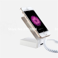 10 pcs/lot Mobile phone Security Display with charging and alarm functions  Smart phone anti theft display stand