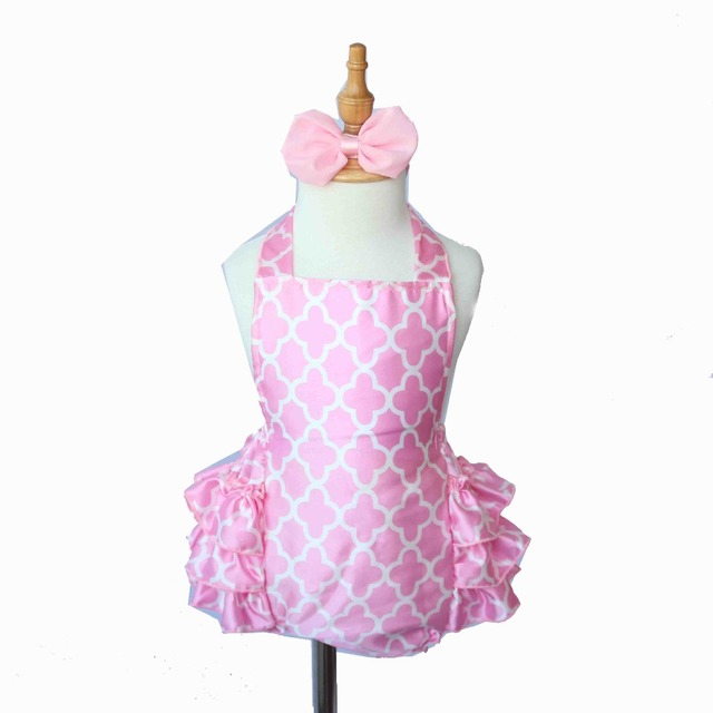 12b03eefe311 Cute Baby Girls Rompers Pink Satin Jumpsuit Toddler Girls Ruffle Romper  Baby Birthday Party Clothing Photography