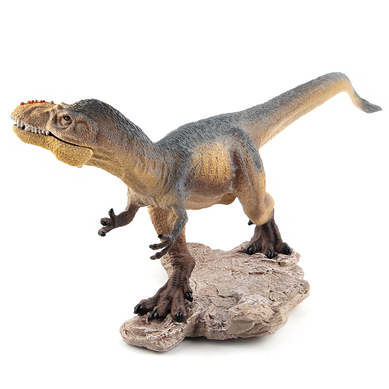 Prehistoric century dinosaur world Yutyrannus Solid model figure teaching Collection Childrens birthday Gift model toys