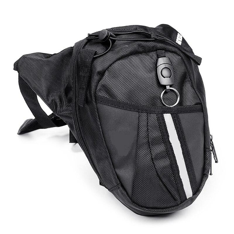 Men Waist Bag Outdoor Bag Leg Drop Motorcycle Waist Pack Unisex Fanny Thigh Belt Bike Waist Bag