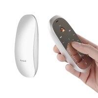 Original Mouse Phone Anica S6 Luxury Mirror Screen Metal Body Cellphone Bluetooth Dialer MP3 FM Cute Mobile Phone