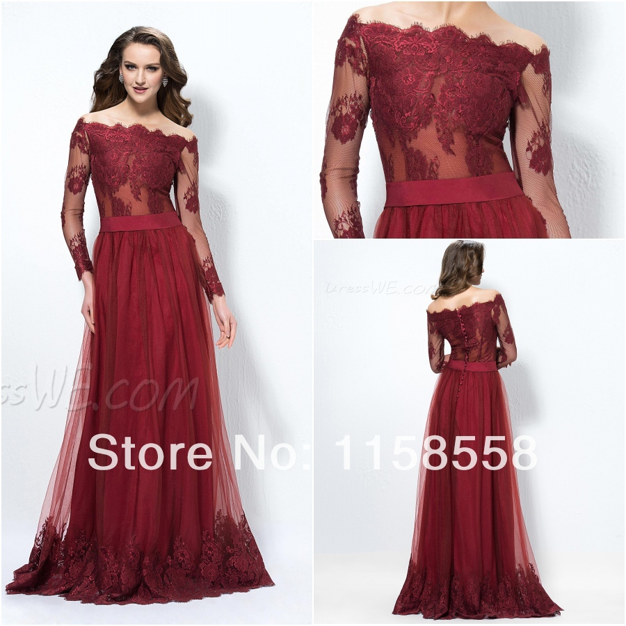 Free Shipping Luxury Chiffon Long Sleeves Prom Dresses 2017 Trends Women Plus Size Evening Gowns With Beads And Lique In From Weddings
