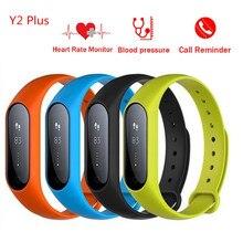 Y2 Плюс Смарт Браслет Артериального Давления браслет Кислорода Фитнес-трекер Сердечного ритма Монитор cardiaco smartband для xiaomi iphone