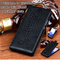 TZ12 Genuine Leather Case Cover For Xiaomi Redmi Note 5 Pro(5.99') Vertical flip Phone Up and Down Leather Cover phone Case