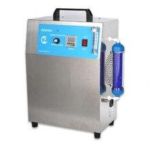 Generator ozonu do oczyszczania powietrza lub uzdatniania wody 5 g/H podawanie powietrza z chłodzenie powietrzem bezpłatna wysyłka przez DHL/FEDEX/EMS