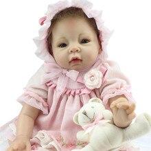 Realistic Newborn Baby Dolls 22 Inch 55cm Big Silicone Reborn Baby Dolls For Kids Toys Accompany Partners Lifelike Baby Dolls