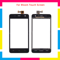 5Pcs/lot high quality Touch Screen Digitizer Sensor Outer Glass Lens Panel For Wiko Bloom + Tracking code