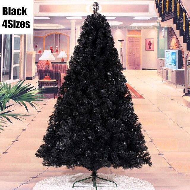 Albero Di Natale Nero.4 Formati Appeso Ornamento Fiocchi Di Neve Decorazione Albero Di
