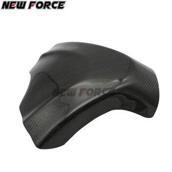Motorcycle carbon fiber fuel tank cap sticker ultra light sun protection cover for SUZUKI GSXR1000 GSXR 1000 2009-2011