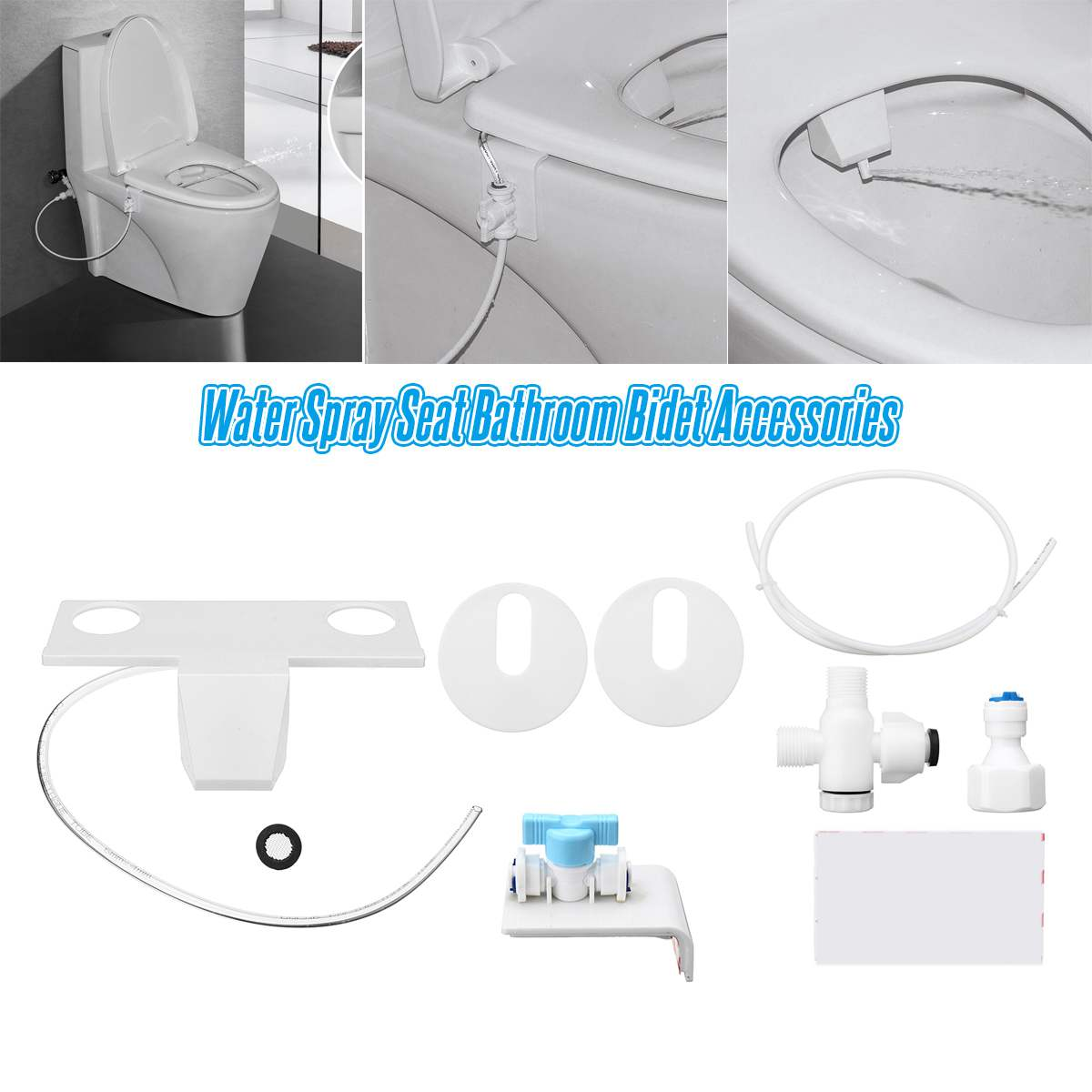 Bathroom Bidet Washing Guns Nozzle Professional Toilet Water Spray Seat Fresh for Bathroom Bidet Parts Accessories