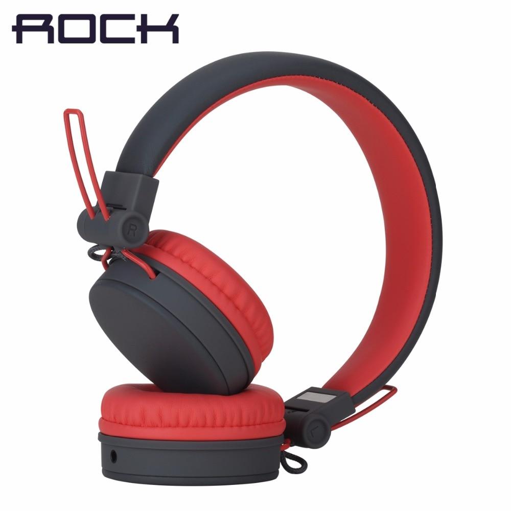 ROCK Y10 Stereo Kopfhörer, mikrofon Stereo Bass Verdrahtete kopfhörer headset für computer spiel mit Mic