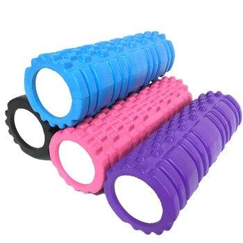 Yoga colonne rouleau équipement de Fitness EVA mousse Yoga Pilates Yoga bloc Gym rouleau Massage grille déclenchement cercles thérapie Relaxation