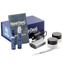 2pcs/lot snoop dogg herbal vaporizer kit snoop dogg herbal Vape Dry herb E Cigs Kit snoop dogg wax electronic cigarette box kit