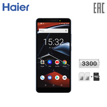 Смартфон Haier i8 3+32GB - 8-ядерный процессор, мощная батарея, сканер отпечатка пальца [официальная гарантия, быстрая доставк