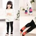 Venta caliente Otoño e invierno 3-10y niñas leggings bebé pantalones de algodón polainas del cabrito