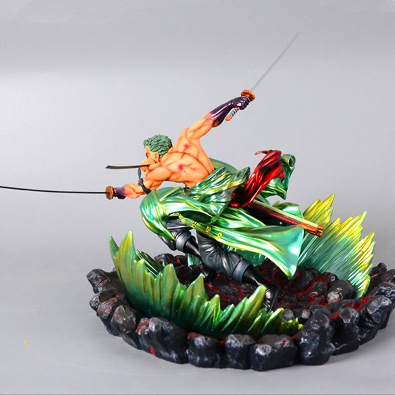 24 cm une pièce Roronoa Zoro Statue trois mille monde bataille ver Figure jouet PVC nouvelle Collection figurine Action jouets cadeau - 4
