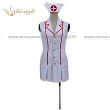 Kisstyle Fashion LOL Akali Nurse Uniform COS Clothing Cosplay Costume,Customized Accepted