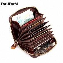 Zipper Men Clutch Bags Genuine Leather Wallet Men New Brand Wallets Male Card Holder Wallets Purses carteira masculina LI-1601