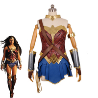 Movie Wonder Woman Cosplay Costume Princess Diana Dress Full Sets Party Halloween Carnival Super Hero Uniforms Custom Made