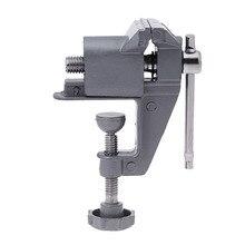 цена на Universal Mini Bench Vise Table Screw Vise Aluminium Alloy 30mm Bench Clamp Screw Vise for DIY Craft Mold Fixed Repair Tool