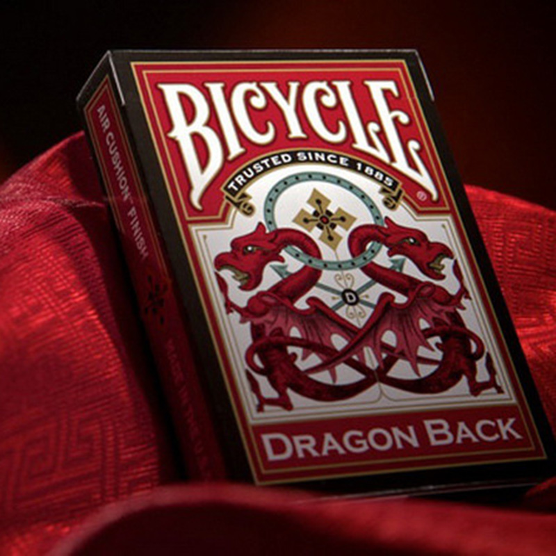 Bicycle Dragon Back Playing Cards 88*63mm Magic Category Poker Cards for Professional Magician Collection Card