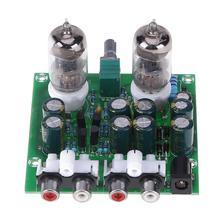 Kit de amplificador de tubo 6J1, Kit de amplificador artesanal, placa de tubo electrónico de estéreo Hifi, preamplificador, módulo de amplificador de lámpara