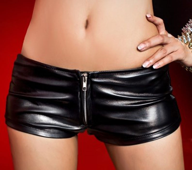 Hot girls in sexy leather that