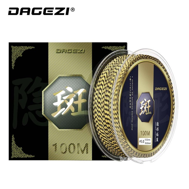 Best DAGEZI 100M PE Braided fishing lines best