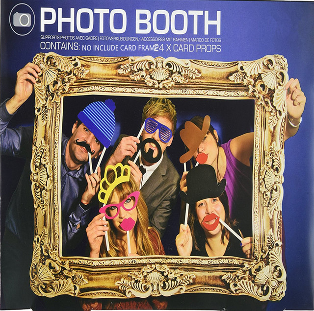 1set Photo Booth Props Not Include Frame Wedding Favors Birthday