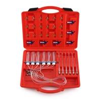 6 Cylinder Diesel Injector Flow Test Meter Adaptor Set Common Rail Tool Kit