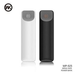 Wk mini banco de potência 2500 mah carregador de bateria externa portátil usb powerbank para iphone x xr xs max samsung xiaomi