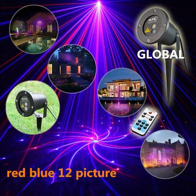 НОВЫЕ Xmas LED Лазерный свет лампы Водонепроницаемый Сад Небо звезды firefly стадии лазерного освещения для открытый Рождественский свет проектора