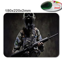 Best Price Black Rubber Mousepad CSGO Sniper Print Mouse Mat Laptop Computer Gaming Mice Pads For Optical Laster Mats