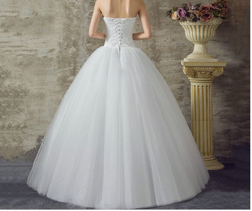 Cheap Plus Size Ball Gown Wedding Dresses: 2016 Real Sample Custom Plus Size Wedding Dress Lace